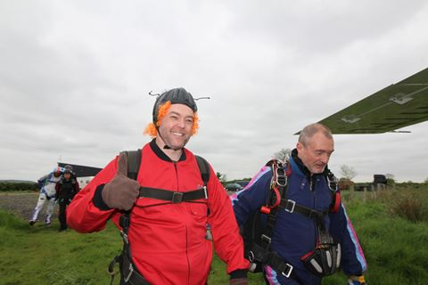 Charity Skydive in aid of The Anaphylaxis Campaign