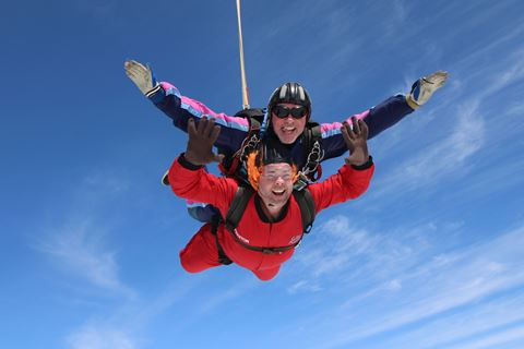 Flying high in aid of The Anaphylaxis Campaign