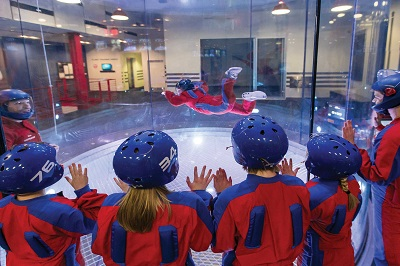 Indoor Skydiving Group 3