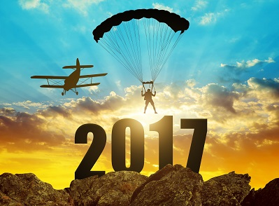 UK Skydiving Adventures Happy New Year 2017